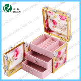 Acrylic Cosmetic Makeup Train Jewellery Box with Drawers (HX-Y1820)