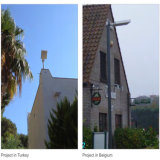 Solar Street Light with PIR Sensor /Solar Garden Lights Integrated
