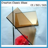 4-8mm Bronze Reflective Glass Tinted Glass, Blue Green Grey Glass