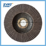 Flap Disc with Plastic Fiber Backing for Metal Polishing