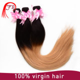 Wholesale Ombre Color Human Hair Weft European Virgin Hair Extensions