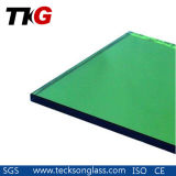 8mm Dark Green Tinted Float Glass with High Quality