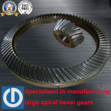 Zp375 Spiral Bevel Gears for Mining Machine Crusher
