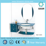 Glass Bathroom Corner Sink Vanity (BLS-2164)