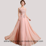 Floor-Length Party Dresses Sexy Chiffon Long A-Line Prom Dresses