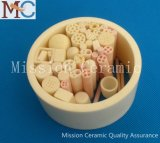 High Density 3.9g / Cm3 Large Size Alumina Ceramic Tube