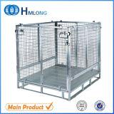 Steel Welded Mesh Wire Storage Container for Pet Preform Storage