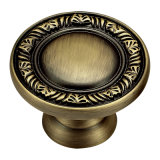 Hotel Antique Style Brass Furinture Handle and Knob