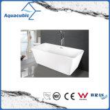 Bathroom Square Acrylic Free-Standing Bathtub (AB1506W-1500)