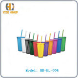 Acrylic Cup with Lid and Straw (HD-HL-004)