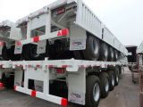 Tongya Side Wall Semi Trailer with Four Axles