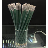 Black Lead Pencil with Eraser