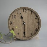 Hot Cheap High Quality Vintage Plywood Wall Clock