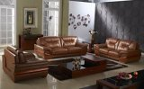 Home Sectional1+2+3 Leather Living Room Sofa Furniture (RFT-1265)