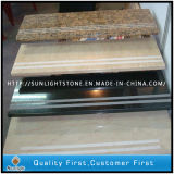 Antislip Marble/ Granite/Basalt/Quartz Stone Straight Single Step Tread Stairs for Indoor/Outside