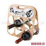 Six Bottle Wine Rack Varies Designs (608355-C/D/E/F/G/H/I/J)