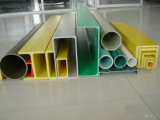 GRP FRP Fiberglass Pultruded Profile Round and Square Pipe, Tube, Bar