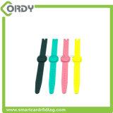 Long Read Range UHF RFID Silicone Wristband for Hospital Use