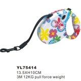 Girl Like Flower Printing Dog Leash Snap Hook (YL75414)