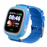 Touch Screen Kids GPS Tracker Positioning Smart Watch Q90 Sos for Ios Android Lost Monitor