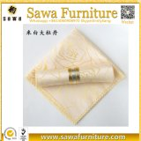 Black Plain Hotel Restaurant Wedding Banquet Polyester Cloth Napkins