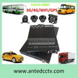 4 Channel Mini SD Card 3G/4G School Bus Surveillance DVR