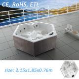 Whirlpool Bathtub Chinese Hot Tub Hydro Massage Bathtub
