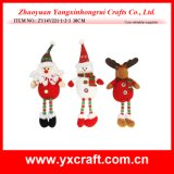 Christmas Decoration (ZY14Y221-1-2-3) Wholesale Christmas Decoration Arts and Crafts