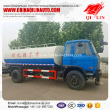 Wheelbase 4700mm Stainless Steel Water Tank Truck for Mongolia