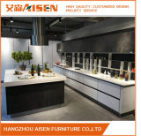 Lacquer and Melamine Door Panel Kitchen Cabinet