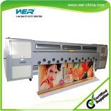 Solvent Inkjet Printer 3.4m* 8 PCS Seiko Spt1020 35pl 1440dpi
