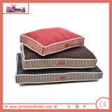 Warm Pet Bed in Blue Red and Brown