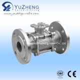Flange End 3 Piece Ball Valve with ISO5211 Pad
