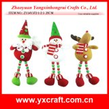 Christmas Decoration (ZY14Y372-1-2-3) Christmas Gift Toy Bathroom Products
