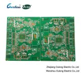 4 Layer Immersion Gold PCB with Green Solder Mask