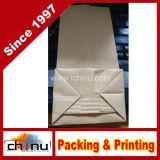 Food Grade Aluminum Foil Side Gusset Kraft Bag with Window (220081)