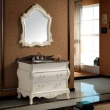 40 Inch Traditional Bathroom Vanity Sink Cabinet with Mirror (SE1003)