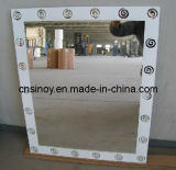 Aluminum Coated or Silver Coated 1.1mm to 8mm Unframed Custom Beveled Decorative Mirror