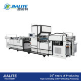 Msfm-1050e Fully Automatic Vertical Type Sheet Paper and Pet OPP BOPP Film Laminating Machine with Chain Knife
