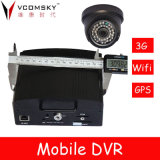 Factory Directly 4 Channel Mobile DVR Used for Car/Truck/Tanker/Bus/Taxi/GPS Tracking