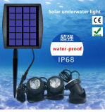 Environmental and Economic Solar LED Aquarium Light with Waterproof IP68 Used for Swimming Pool Underwater or Fountain