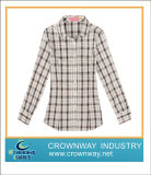 Women Check Shirt for Spring and Autumn