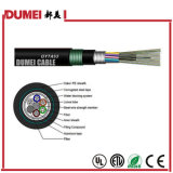 Factory 72 Cores GYTA53 Outdoor Stranded Optical Fiber Cable for Network