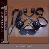 8 Pieces Black Plush Sex Toy for Women (1128A)