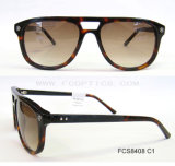 High Quality Men Cr39 Acetate Sunglasses