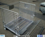 Steel Multifunctional Stackable Wire Mesh Box for Warehouse Storage