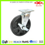 6 Inch Single Locked High Temperature Caster (P701-61F150X50Z)