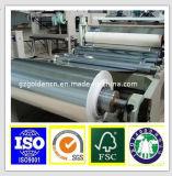 Sliver and Gold Laminated Aluminium Foil Paper in Rolls