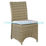Wicker Furniture Round PE Rattan Dining Chair Side Chair