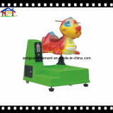 Coin Operated Game Machine Kid′s Swing Ride Little Dinosaur